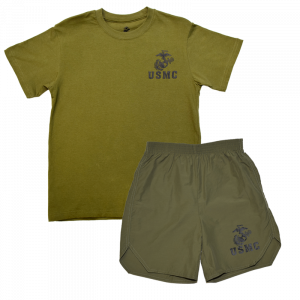 Kid's Marine Corps PT Set-0