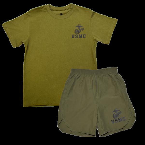 Kid's Marine Corps PT Set-0
