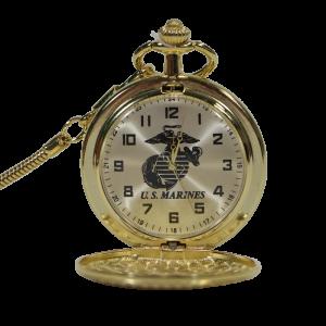 EGA Gold Pocket Watch-0