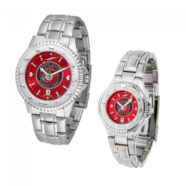 Competitor AnoChrome Watch with Steel Band-0