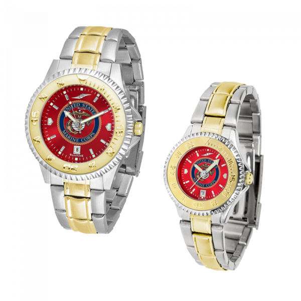 AnoChrome Watch with Two-Tone Band-0