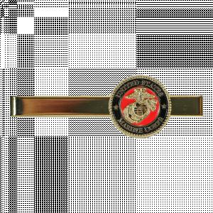 USMC Emblem Gold Tie Bar-0