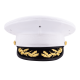 USMC Field Grade Officer Dress Frame and Cover Set Unisex Size 6 1/2