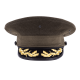 USMC Field Grade Officer Service Frame and Cover Set Unisex Size 6 1/2