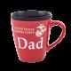 USMC Dad Red & Black Mug-0