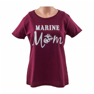 Marine Mom T-Shirt - XLARGE-0