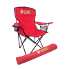 USMC Red Folding Camp Chair with Matching Carry Case
