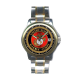 Men's USMC Emblem Analog SS Band Wrist Watch by Aquaforce