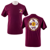 USMC Birthday Ball 2019 Unisex Maroon T-shirt