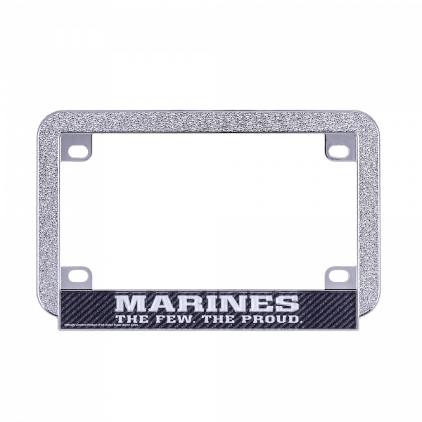 Carbon Motorcycle License Frame-0