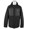 Black Under Armour Mammoth Puffer Hooded jacket.