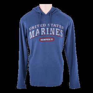 Blue United States Marines Hampton Hoodie