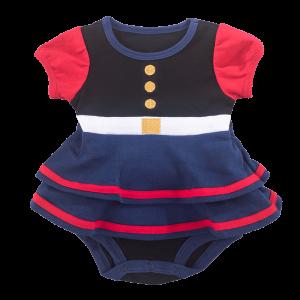 Baby Girl Dress Blues-0